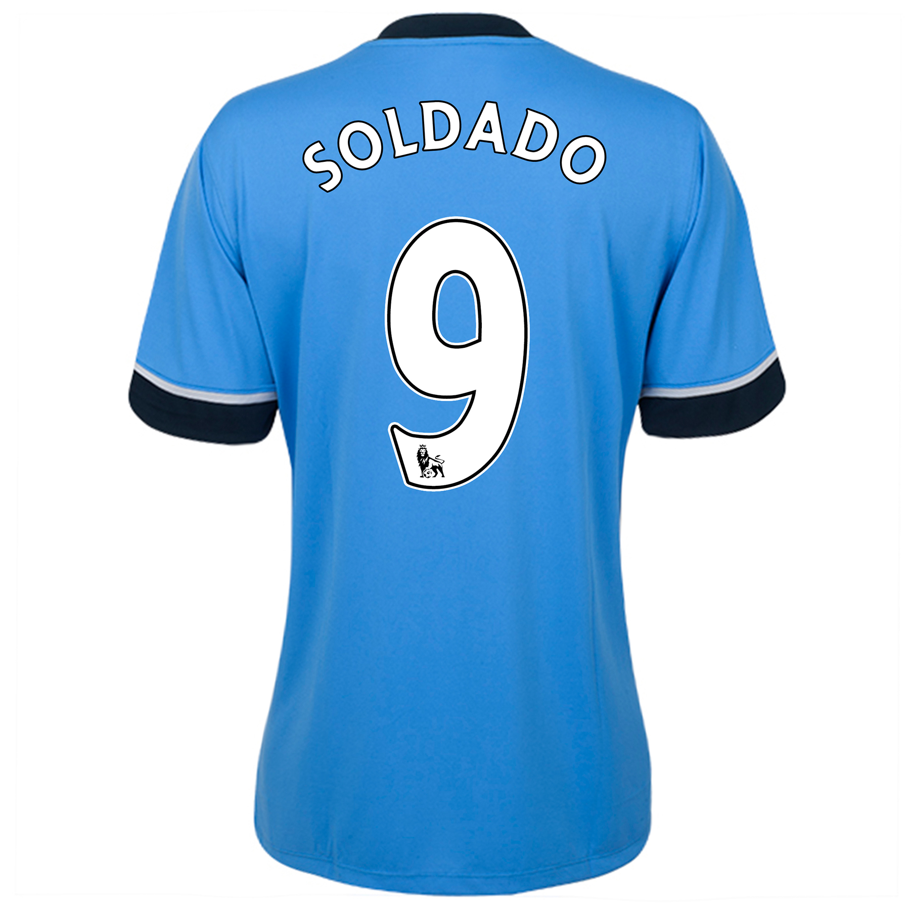 Tottenham Hotspur Away Shirt 2015/16 - Womens Sky Blue with Soldado 9 printing