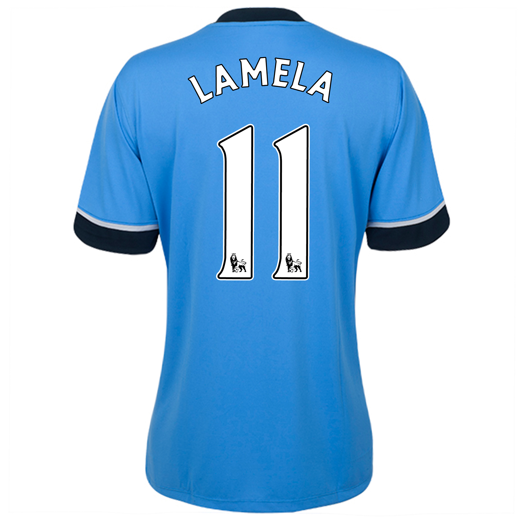 Tottenham Hotspur Away Shirt 2015/16 - Womens Sky Blue with Lamela 11 printing