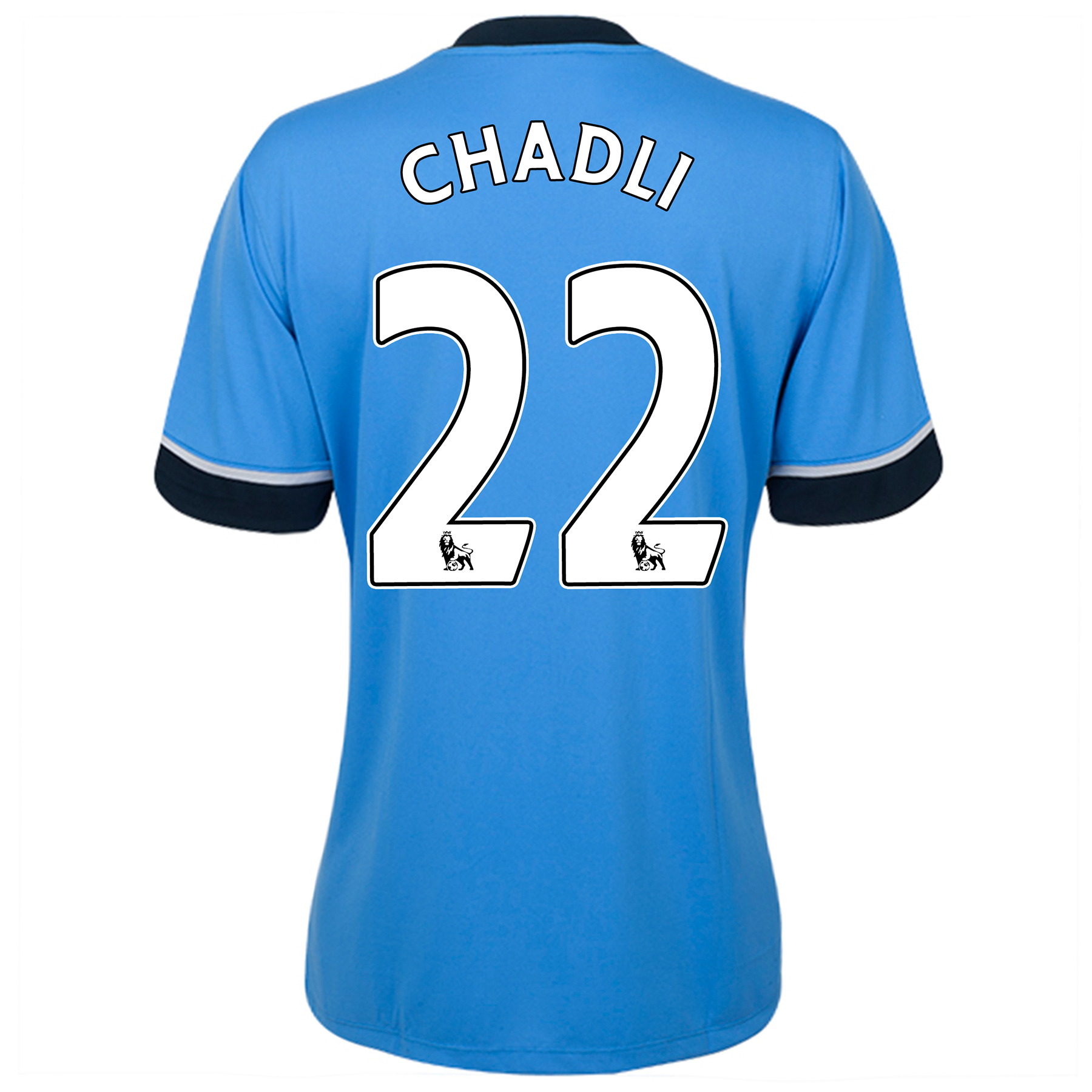Tottenham Hotspur Away Shirt 2015/16 - Womens Sky Blue with Chadli 22 printing