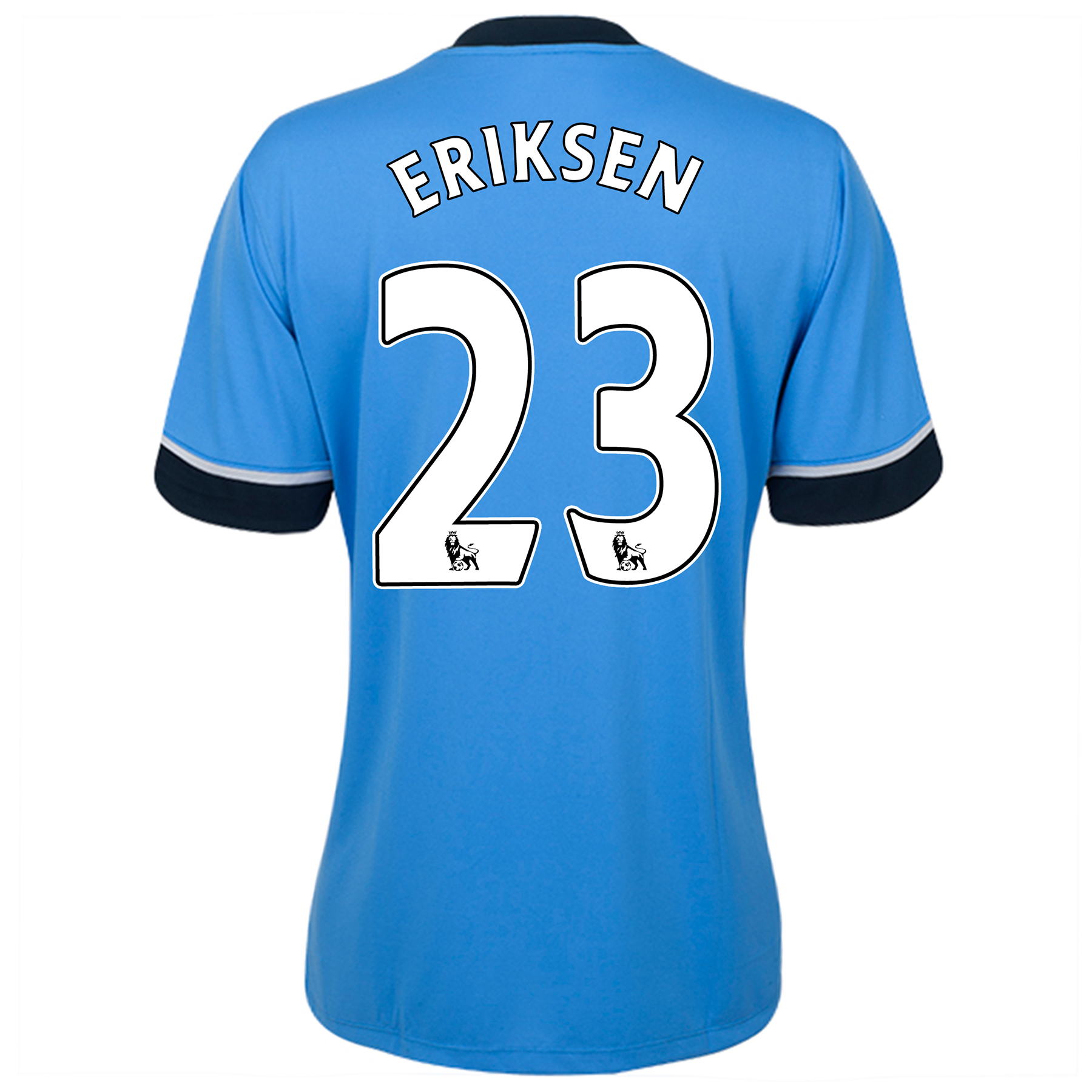 Tottenham Hotspur Away Shirt 2015/16 - Womens Sky Blue with Eriksen 23 printing