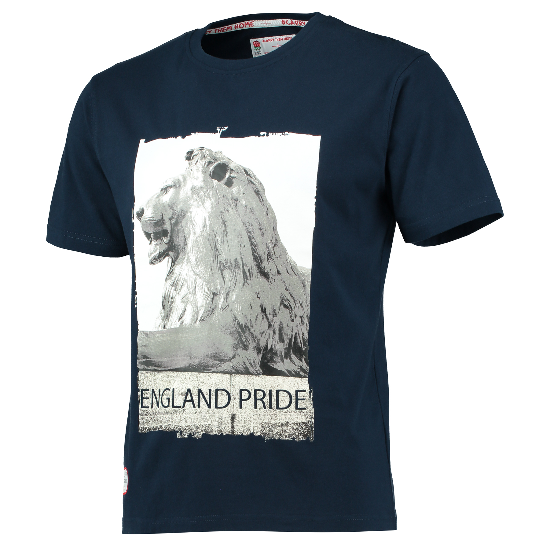 England Classics Collection Lion T-Shirt - Navy