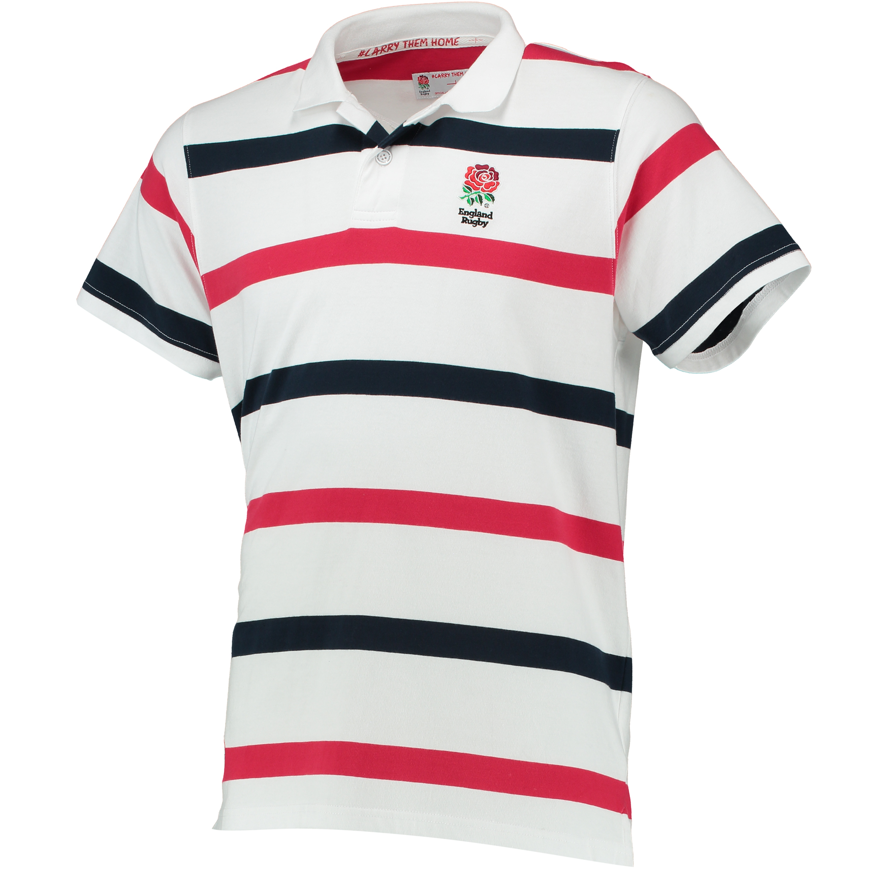 England Classics Collection Yarn Dye Polo - White/Red/Navy