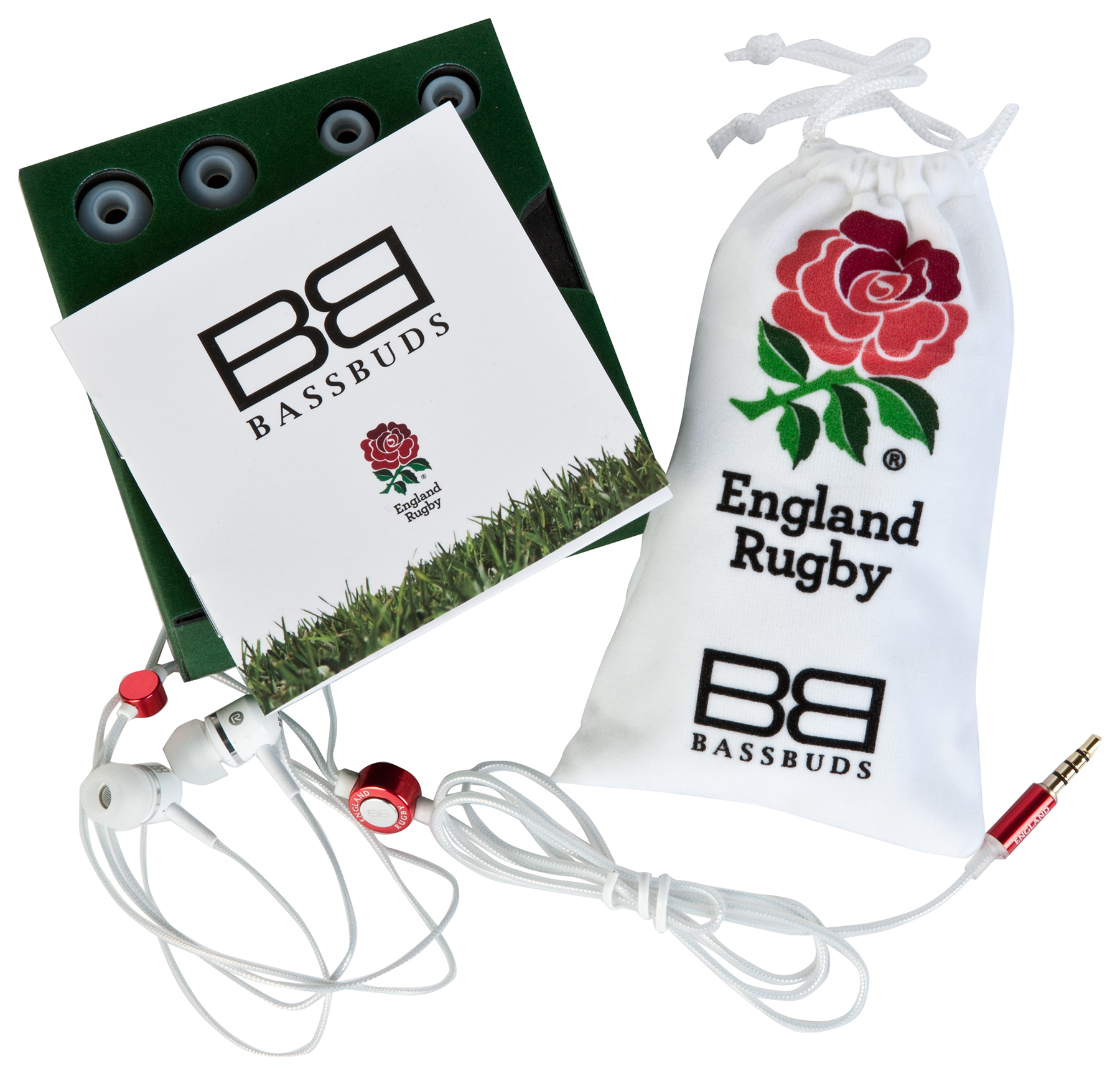 England BassBuds Luxury Earphones