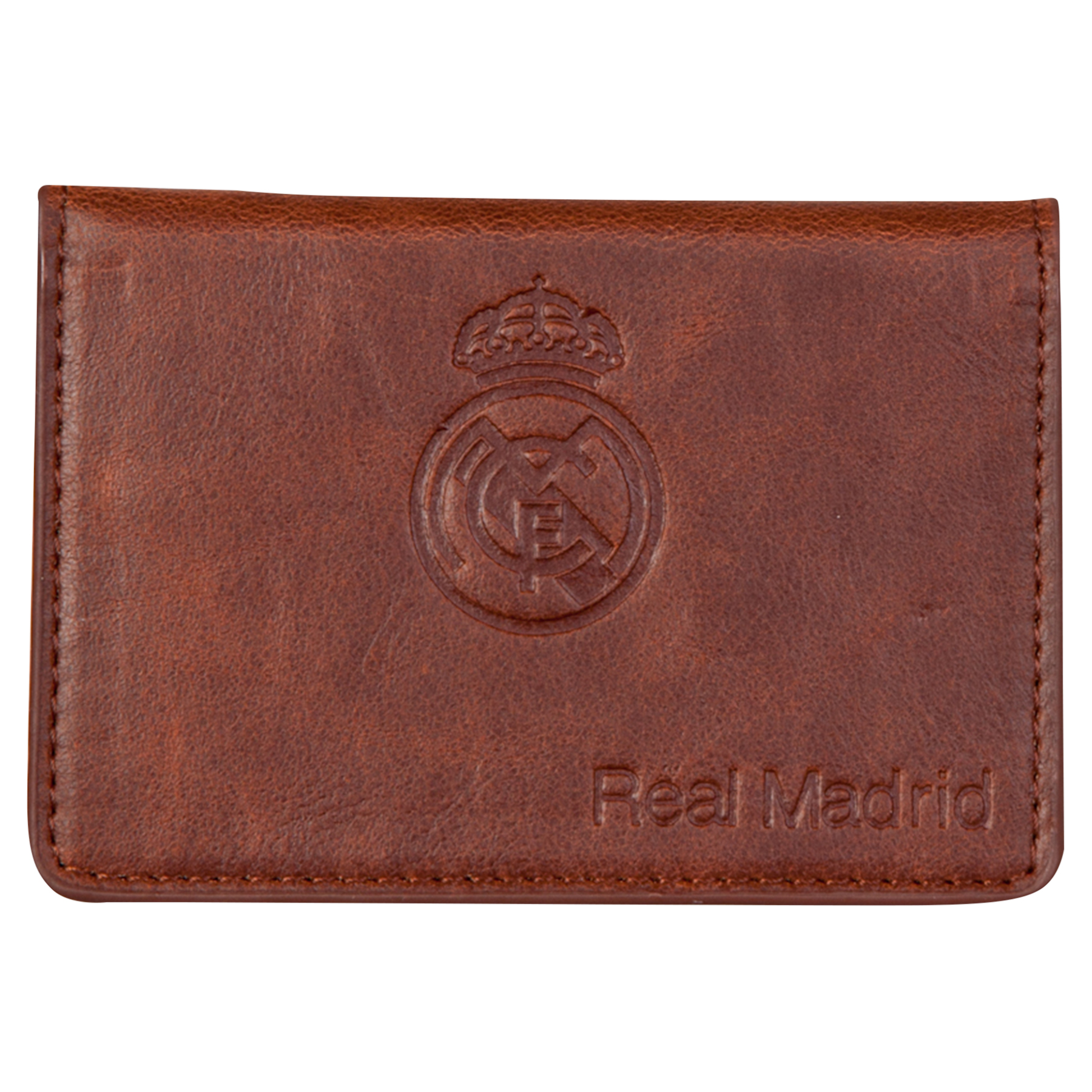 Real Madrid Stadium Card Wallet - Brown
