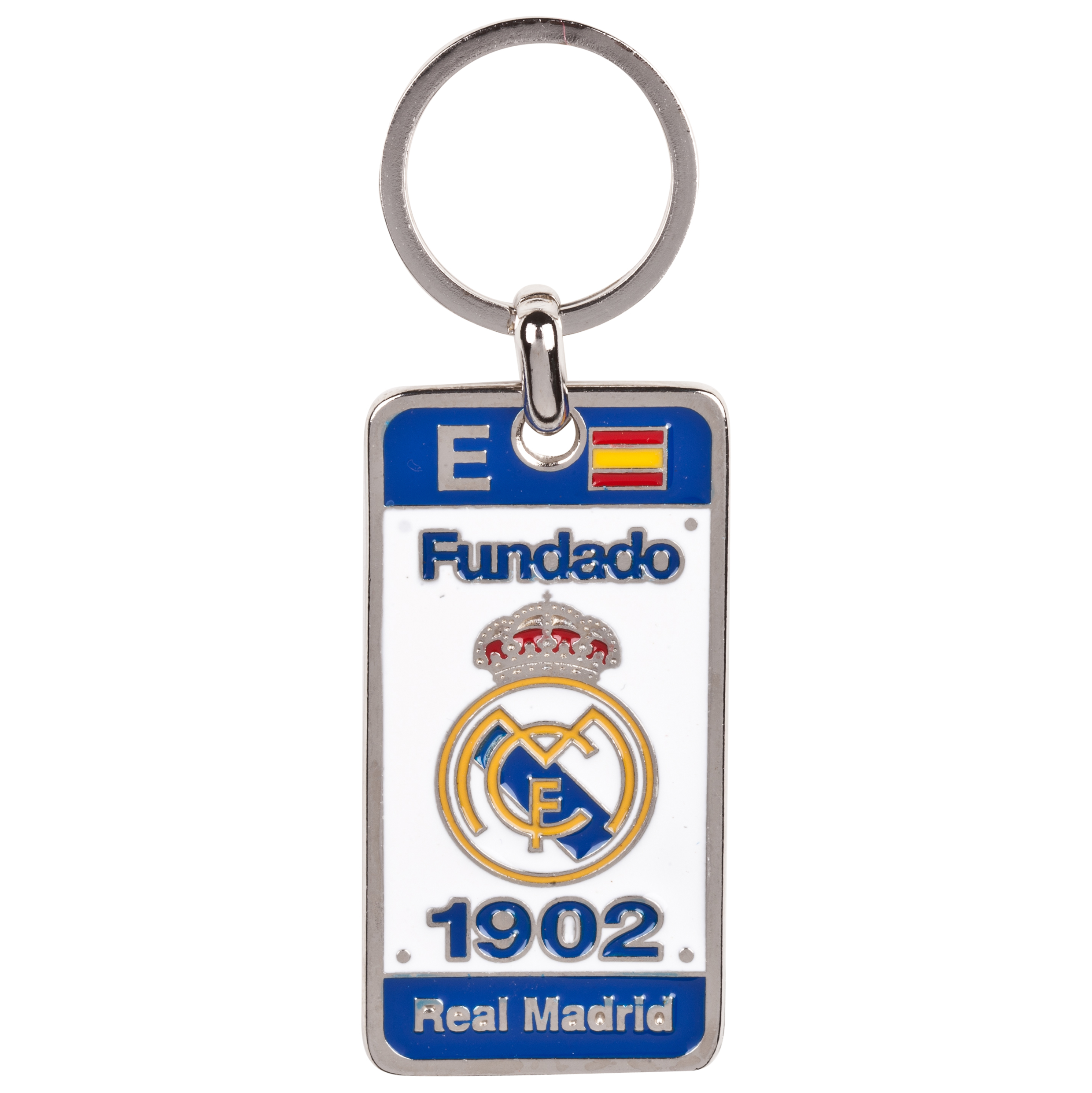 Real Madrid Established Keyring