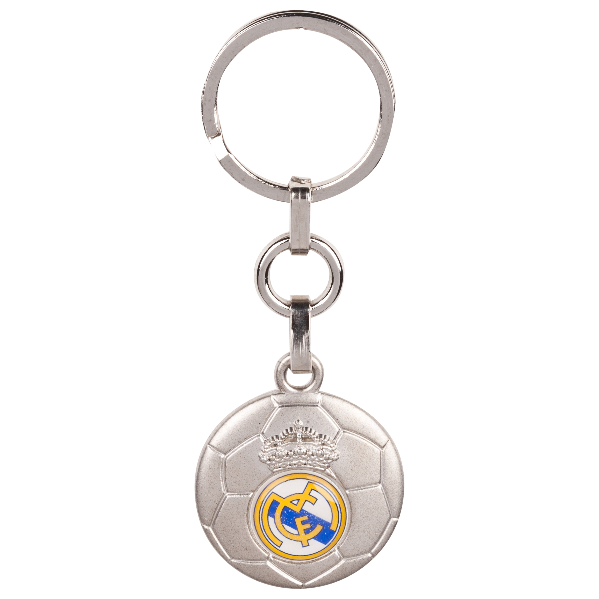Real Madrid Football Crest Keyring
