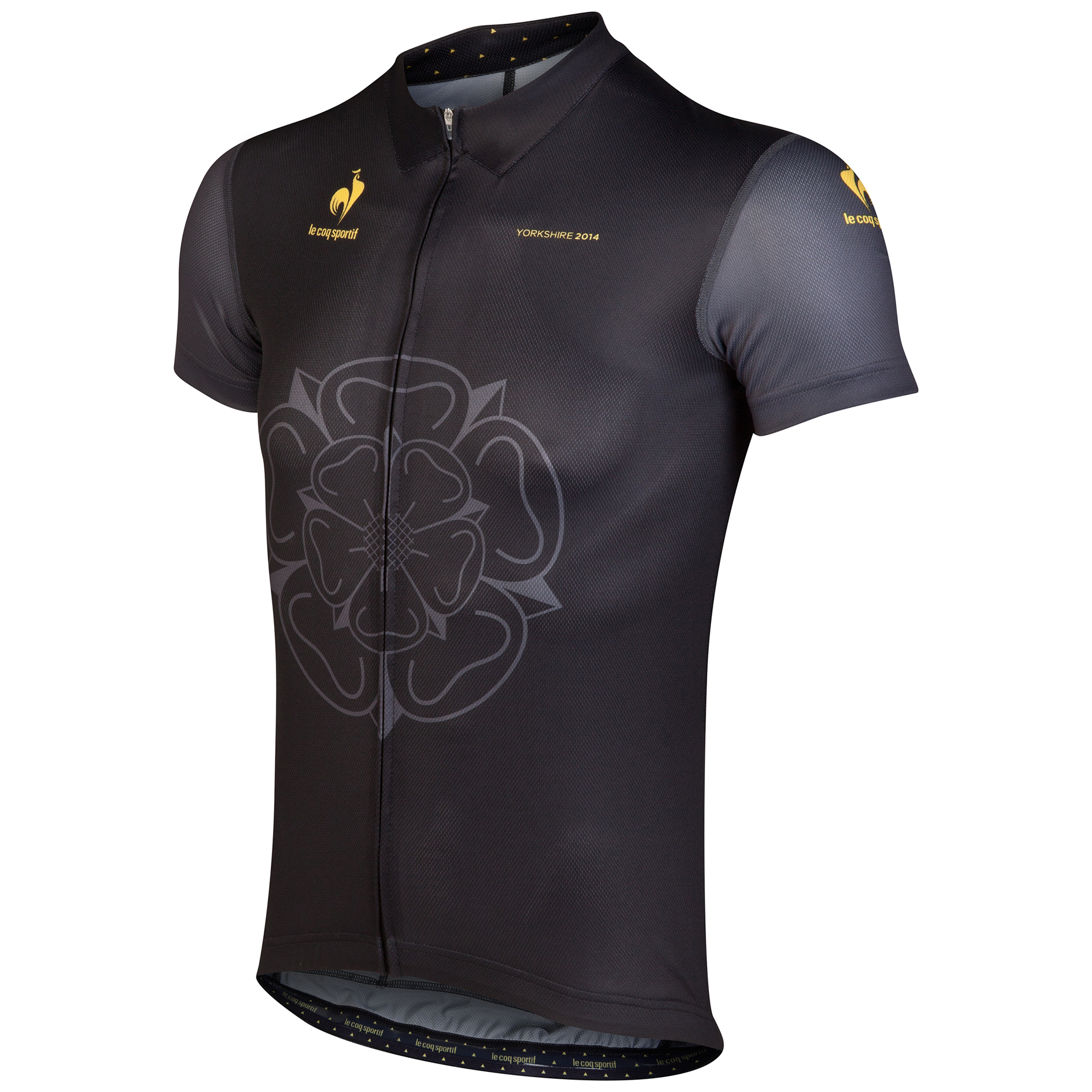 Le Tour de France Le Coq Sportif Yorkshire Dedicated Jersey - Black