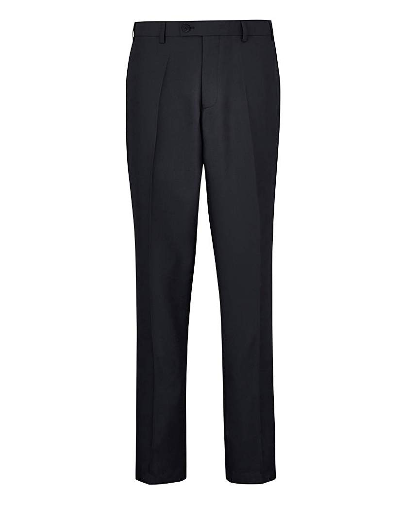 W&B London Black Value Suit Trousers