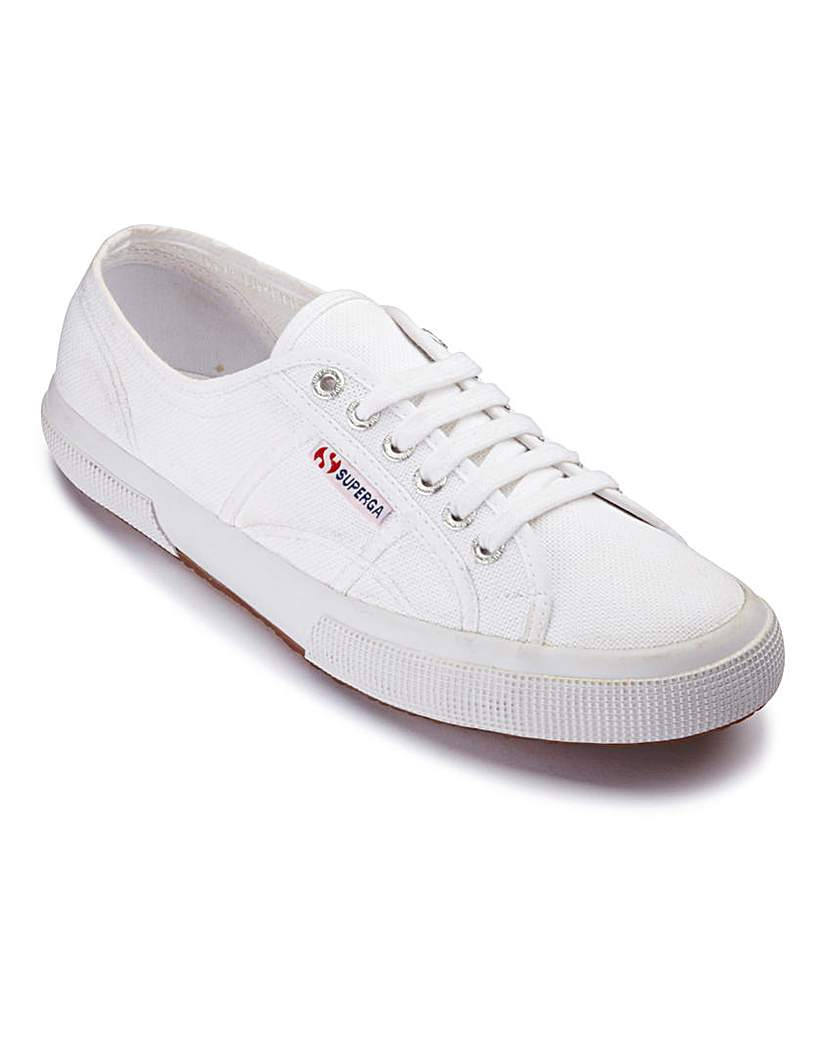 Superga Lace Up Casual Pumps
