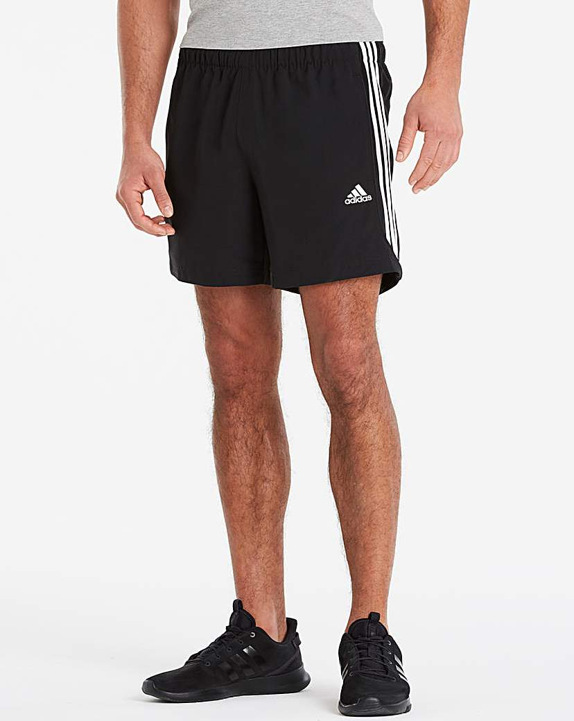 adidas Essential 3 Stripe Chelsea Short