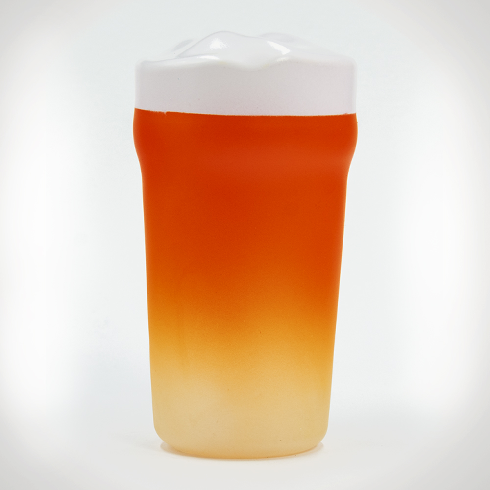 Pint of Beer Squeaky Dog Toy