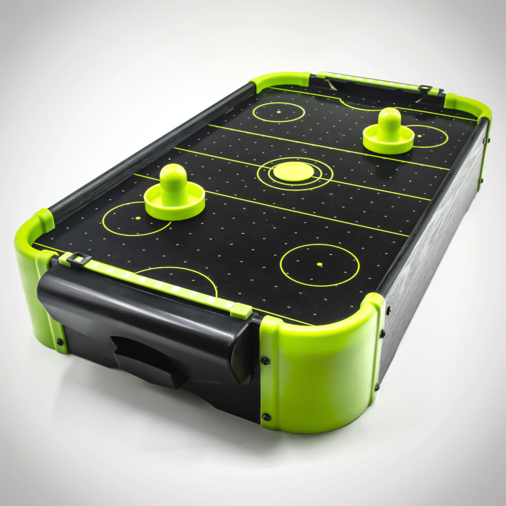Neon Air Hockey Tabletop Game
