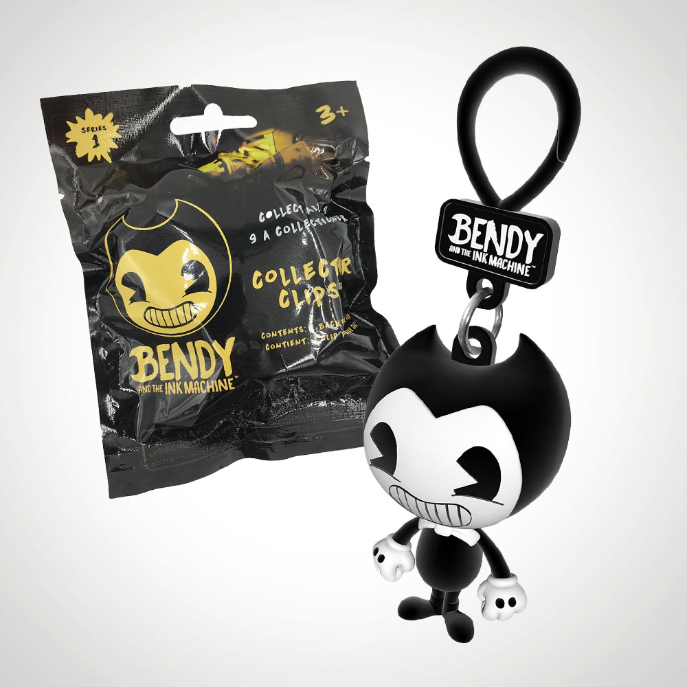 Bendy and the Ink Machine 3D Bag Hangers