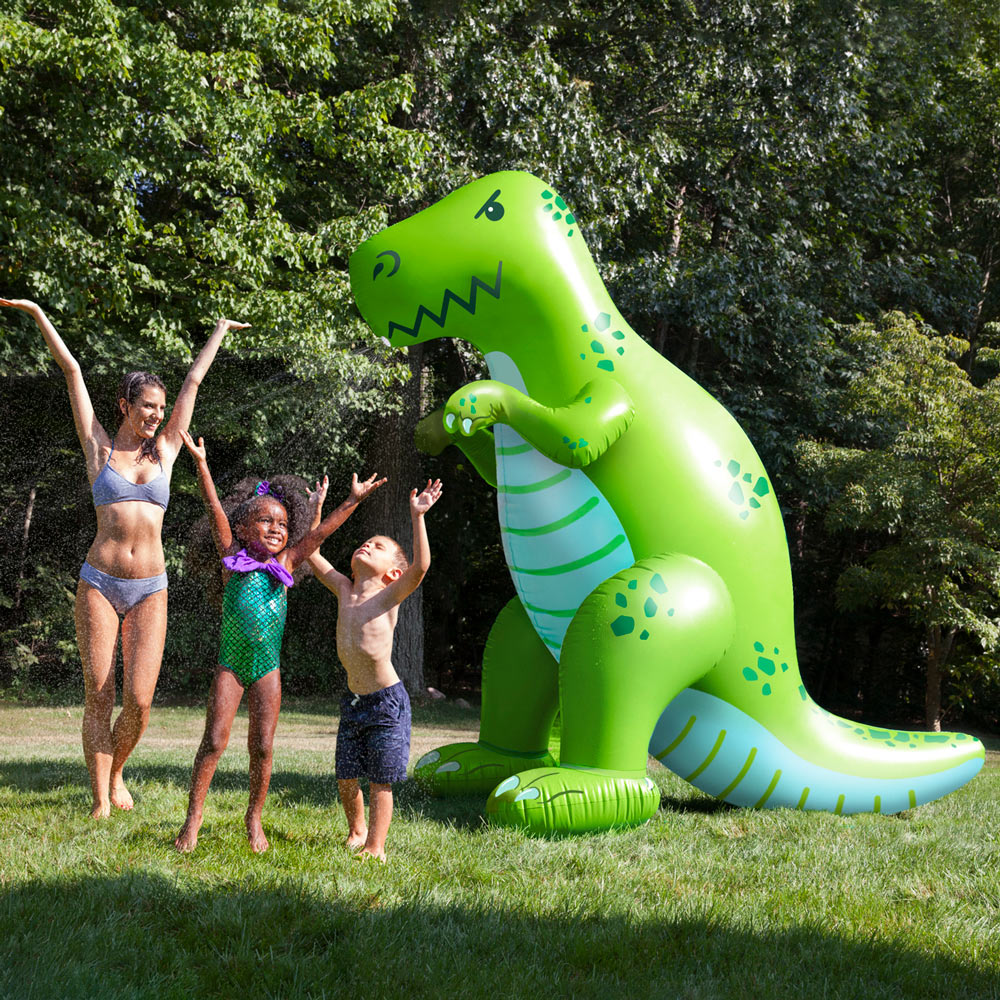 Giant Inflatable Dinosaur Garden Sprinkler