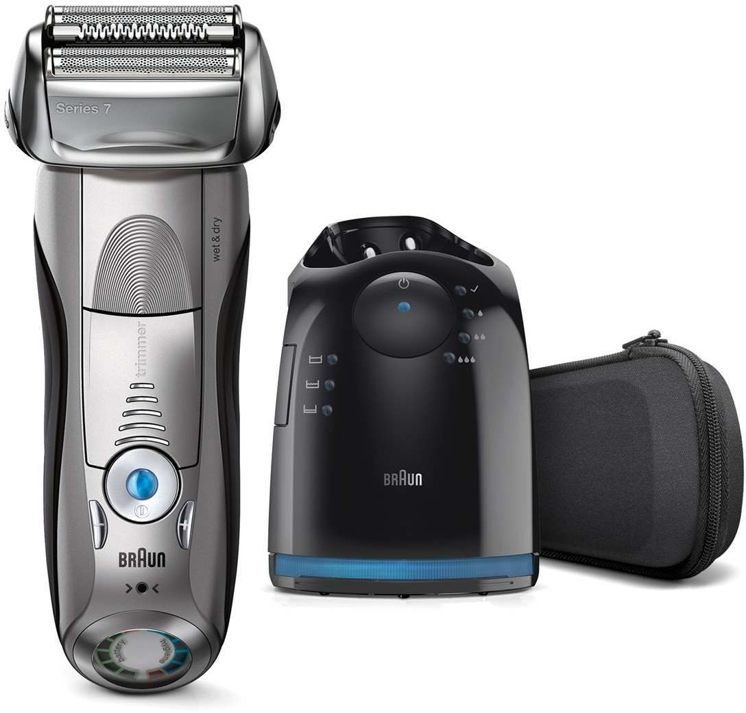 Braun 7898cc Series 7 Clean & Charge Men's Electric Shaver