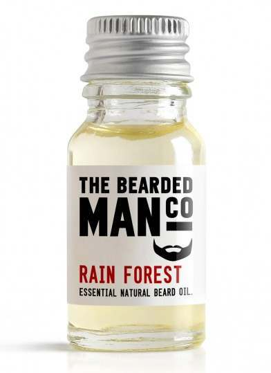 The Bearded Man Co. 10ml Rain Forest Essential Natural Beard Oil
