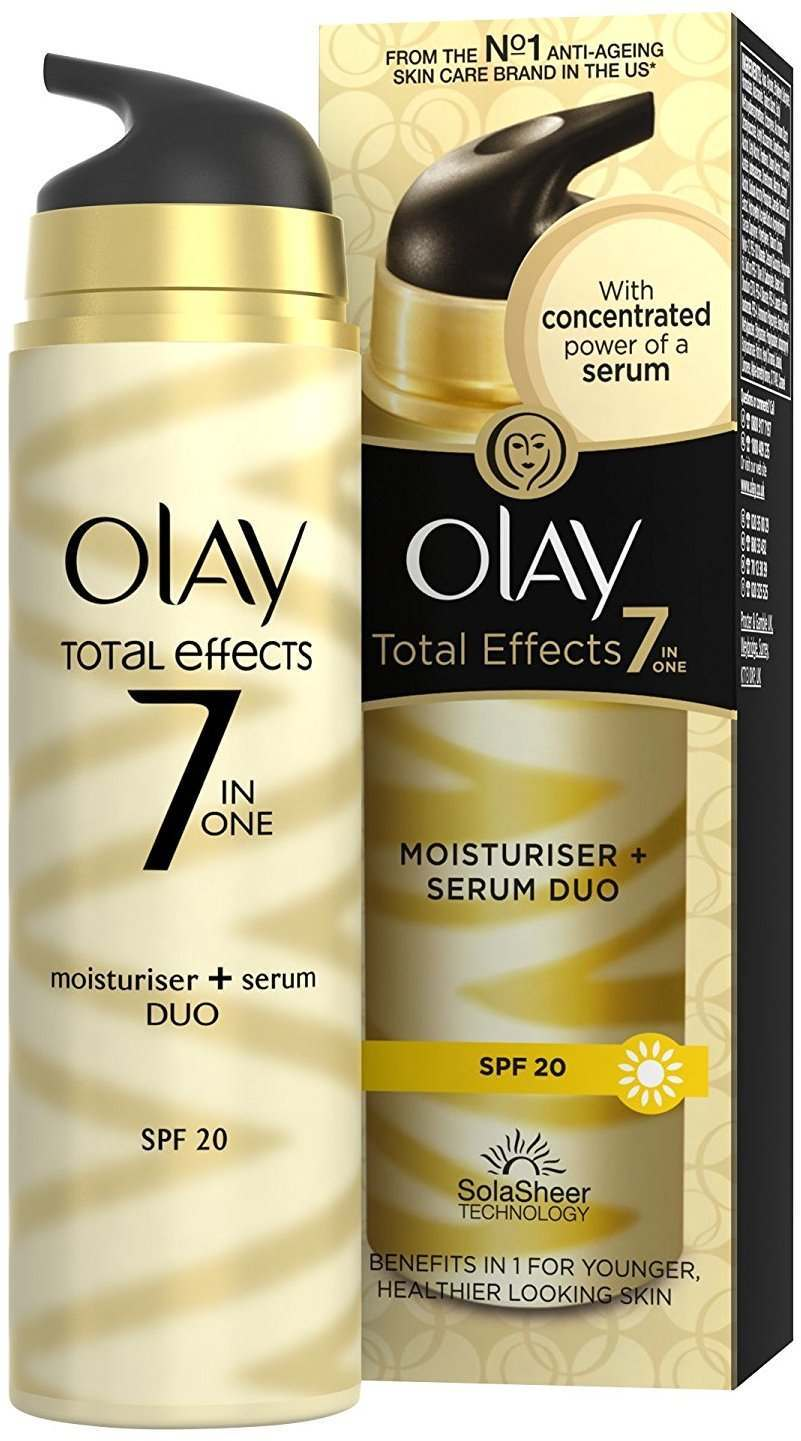 Olay Total Effects 7 in 1 Serum Duo & Moisturiser