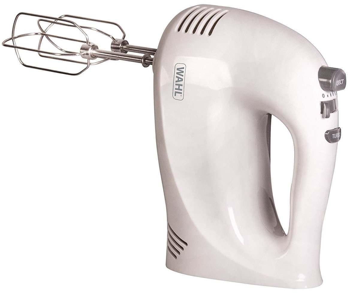 Wahl ZX930 5 Speed White Hand Mixer