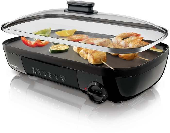 Philips HD6322/20 Viva Collection Table Grill