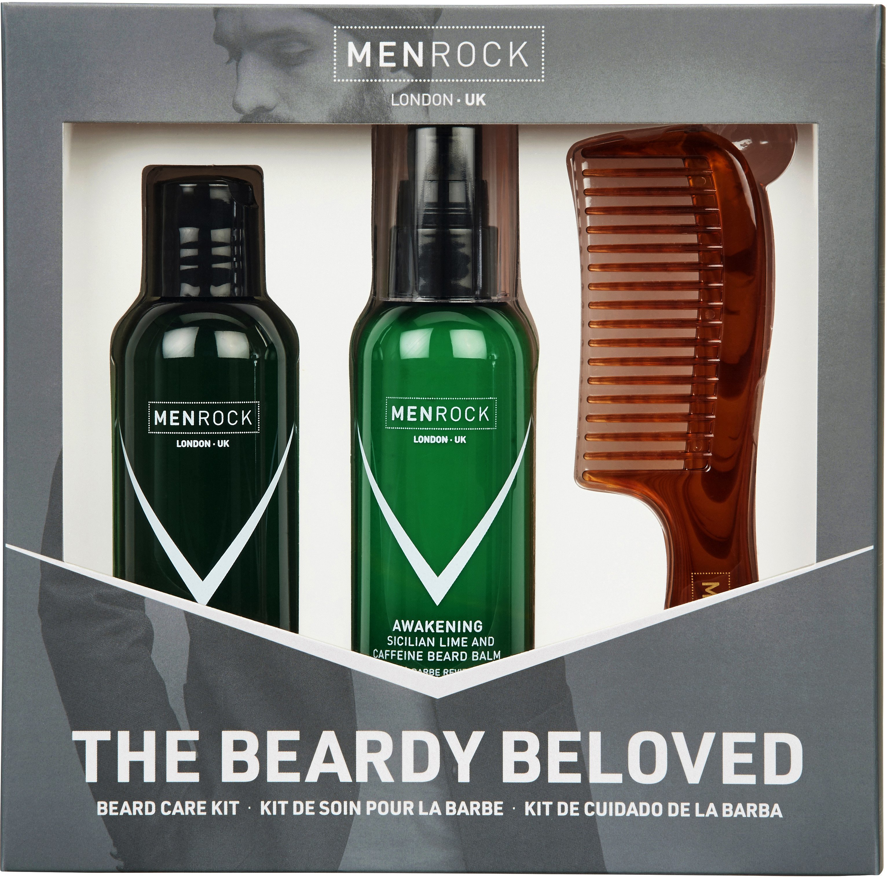 Men Rock MRBBKA (MRBBSG) Beardy Beloved Sicilian Lime & Caffeine Gift