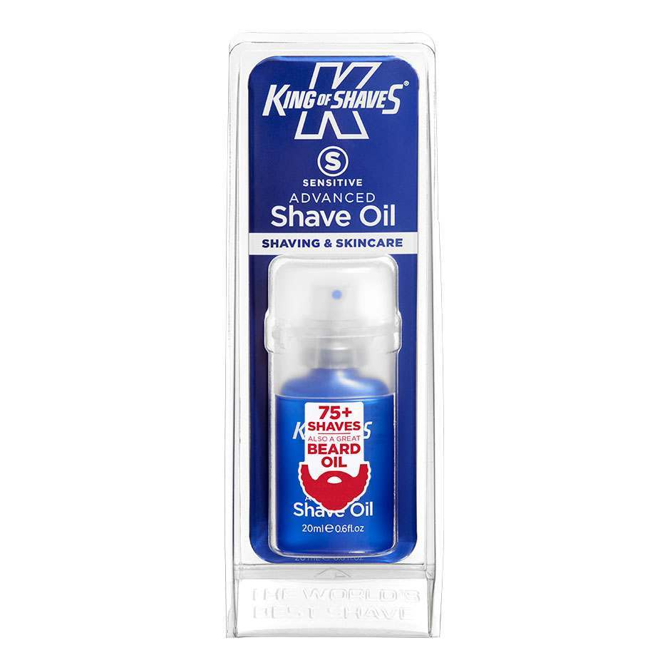 King of Shaves 10118550A Sensitive Advanced 20ml Pre Shave Oil
