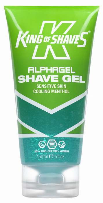 King of Shaves 2KS-118252 Alphagel Sensitive Skin Cooling Menthol
