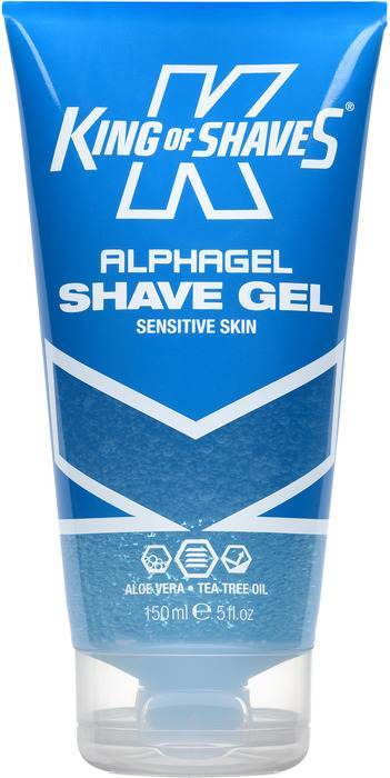 King of Shaves 2KS-118276 Alphagel Sensitive Skin Shaving Gel