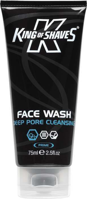 King of Shaves 2KS-119327 Deep Pore Cleansing Face Wash