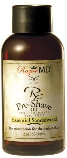 Razor MD 2707 RX Essential Sandalwood Pre Shave Oil