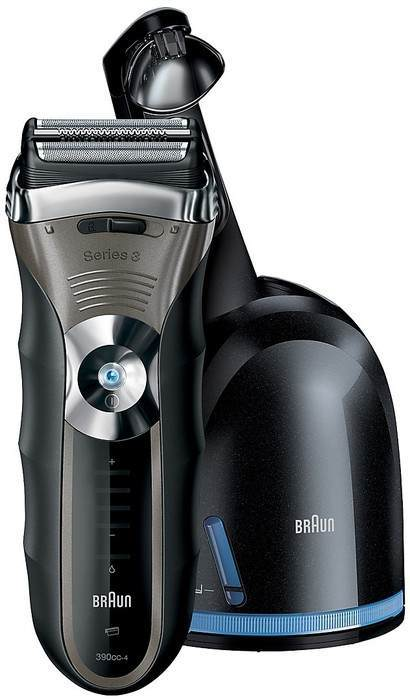 Braun 390cc-4 Series 3 with Clean & Renew System Men's Electric Shaver