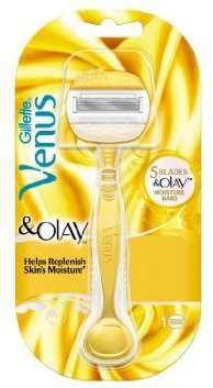 Gillette 81640661 Venus & Olay 5-bladed Razor