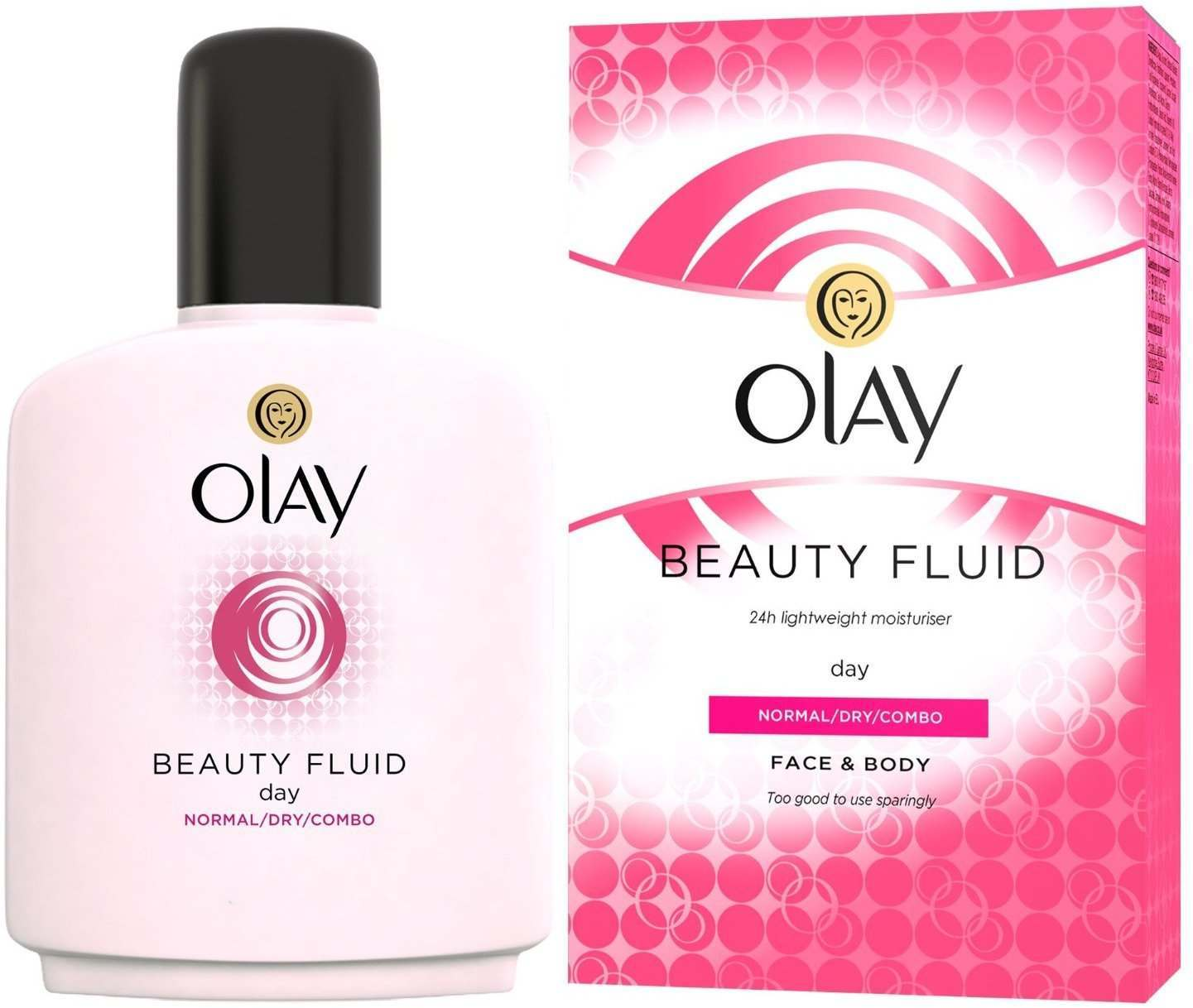 Olay 81507176 Beauty Fluid 100ml Moisturiser