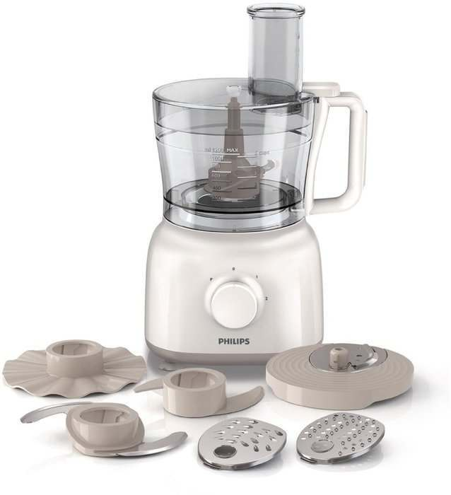 Philips HR7627/01 Daily Collection ProChop White Food Processor