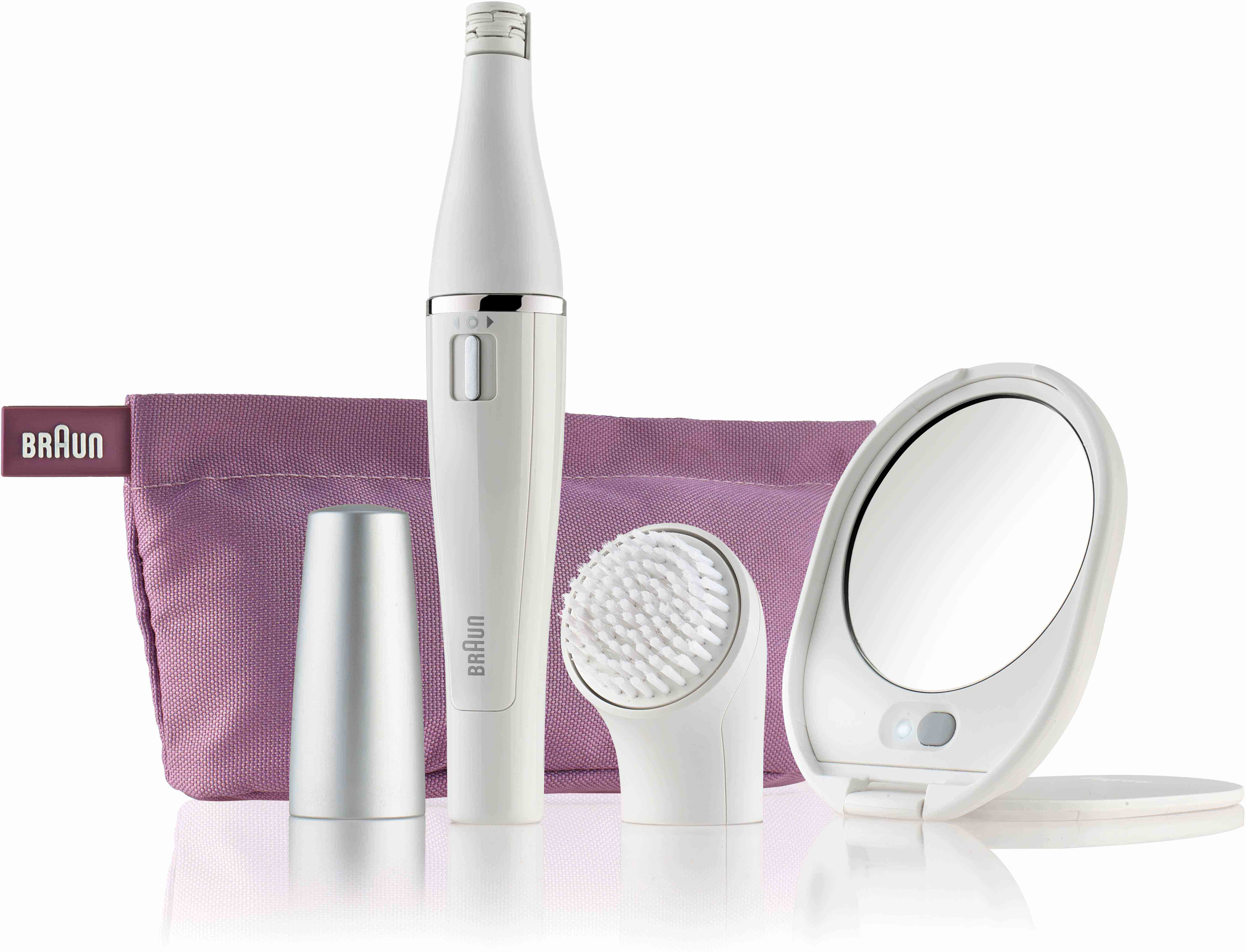 Braun 830 Silk-épil Face Premium Edition - Facial Cleansing Brush and