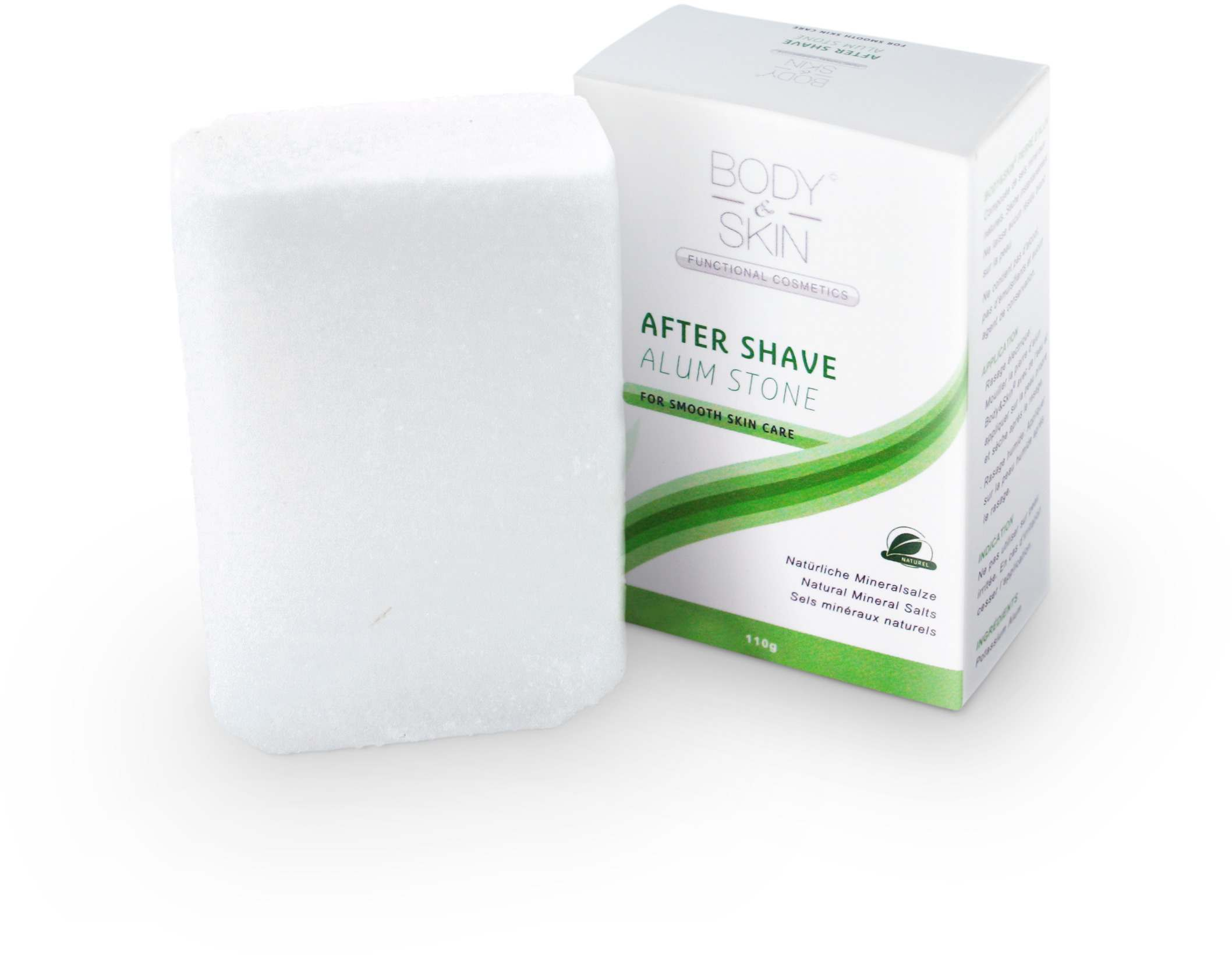 Body & Skin Alum Stone 110g Aftershave