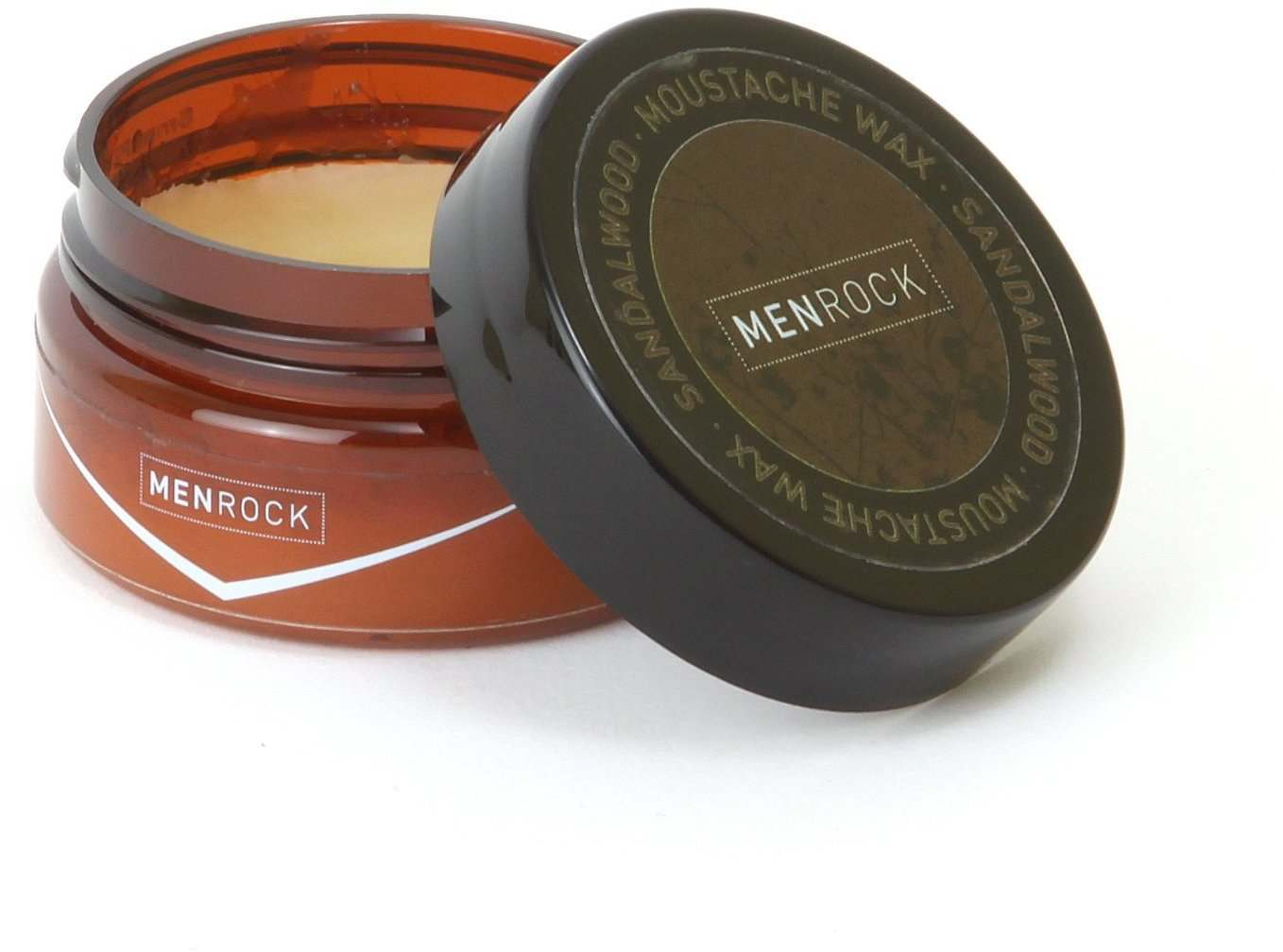 Men Rock MRMW Sandalwood Moustache Wax