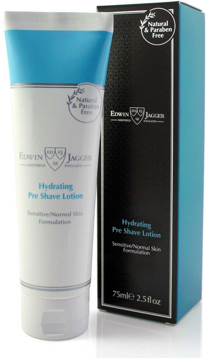 Edwin Jagger PPS-HPSFF Fragrance-free Hydrating Pre Shave Lotion