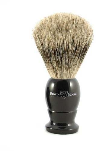 Edwin Jagger PPS-1EJ876 Imitation Ebony Best Badger Medium Shaving