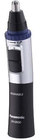 Panasonic ER-GN30 Wet/Dry Battery Operated Nose & Ear Trimmer