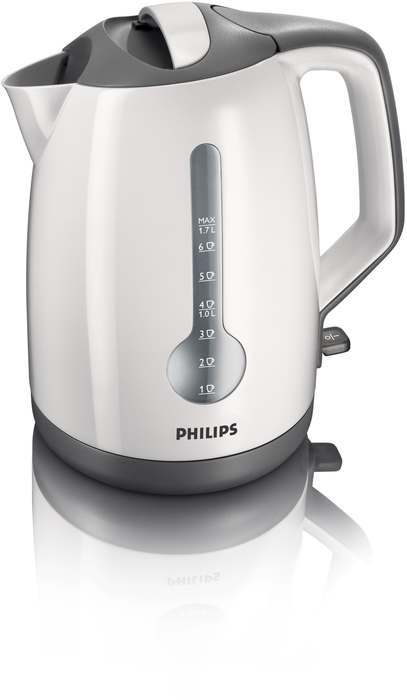 Philips HD4644/00 White-Grey Kettle