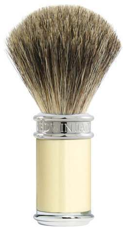 Edwin Jagger PPS-81SB8711 Imitation Ivory Shaving Brush