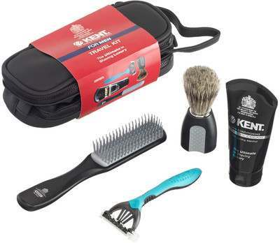 Kent BIG WET SET Big Wet Set Shaving Travel Kit