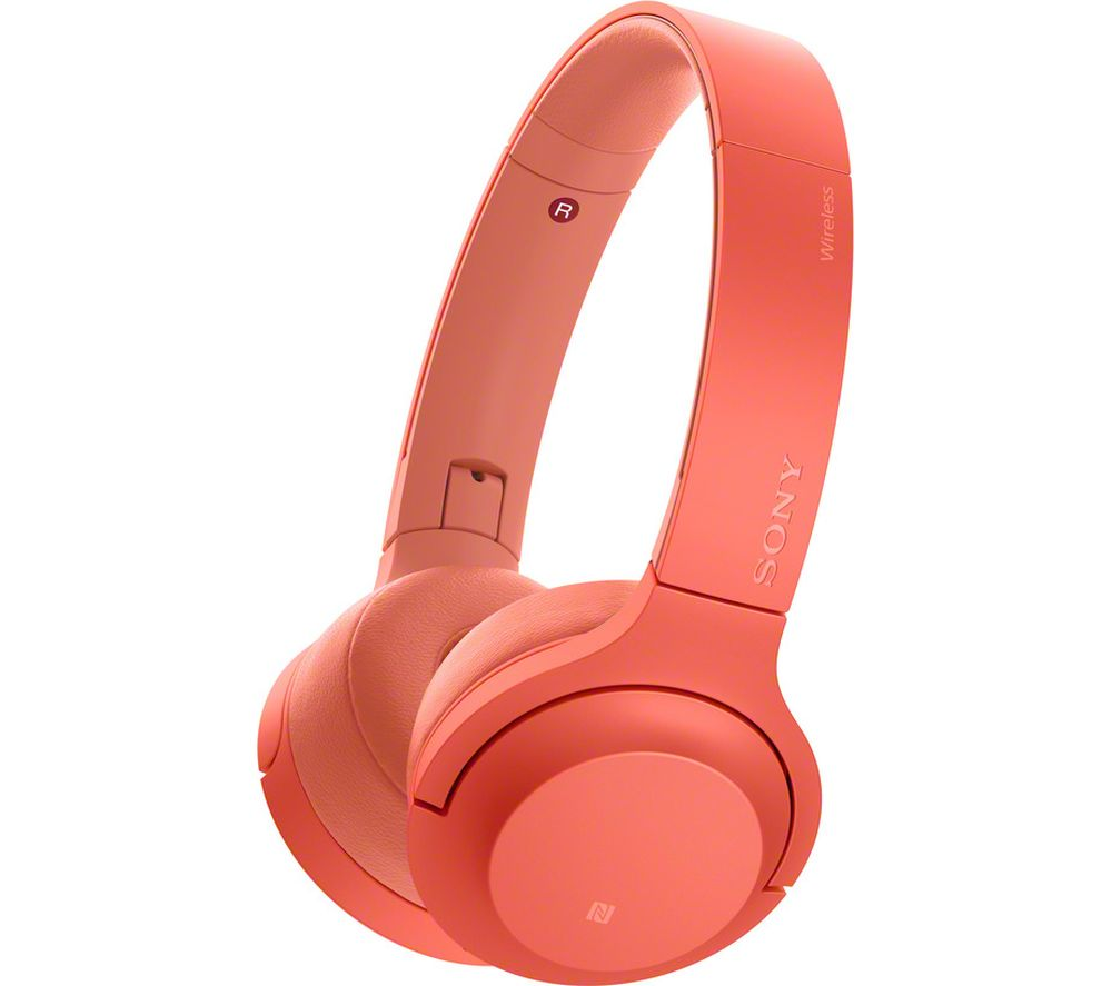 SONY h.ear Series WH-H800 Wireless Bluetooth Headphones - Red, Red
