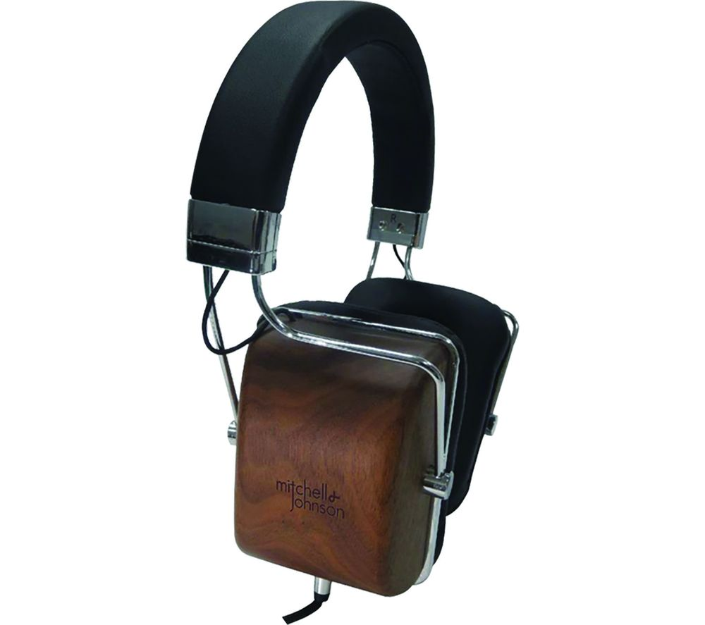 M&J M&J MJ1 Headphones - Black Wood, Black