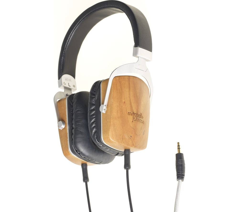 M&J M&J MJ2 Headphones - Black Wood, Black