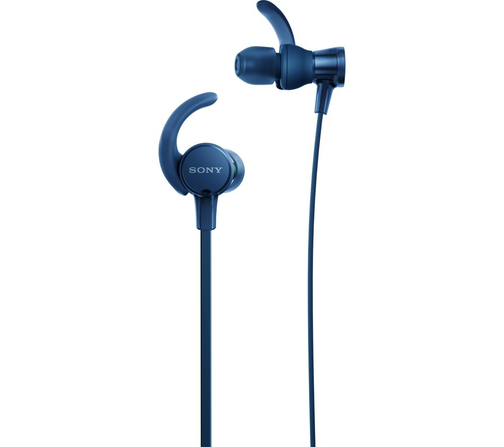 SONY EXTRA BASS MDR-XB510AS Headphones - Blue, Blue