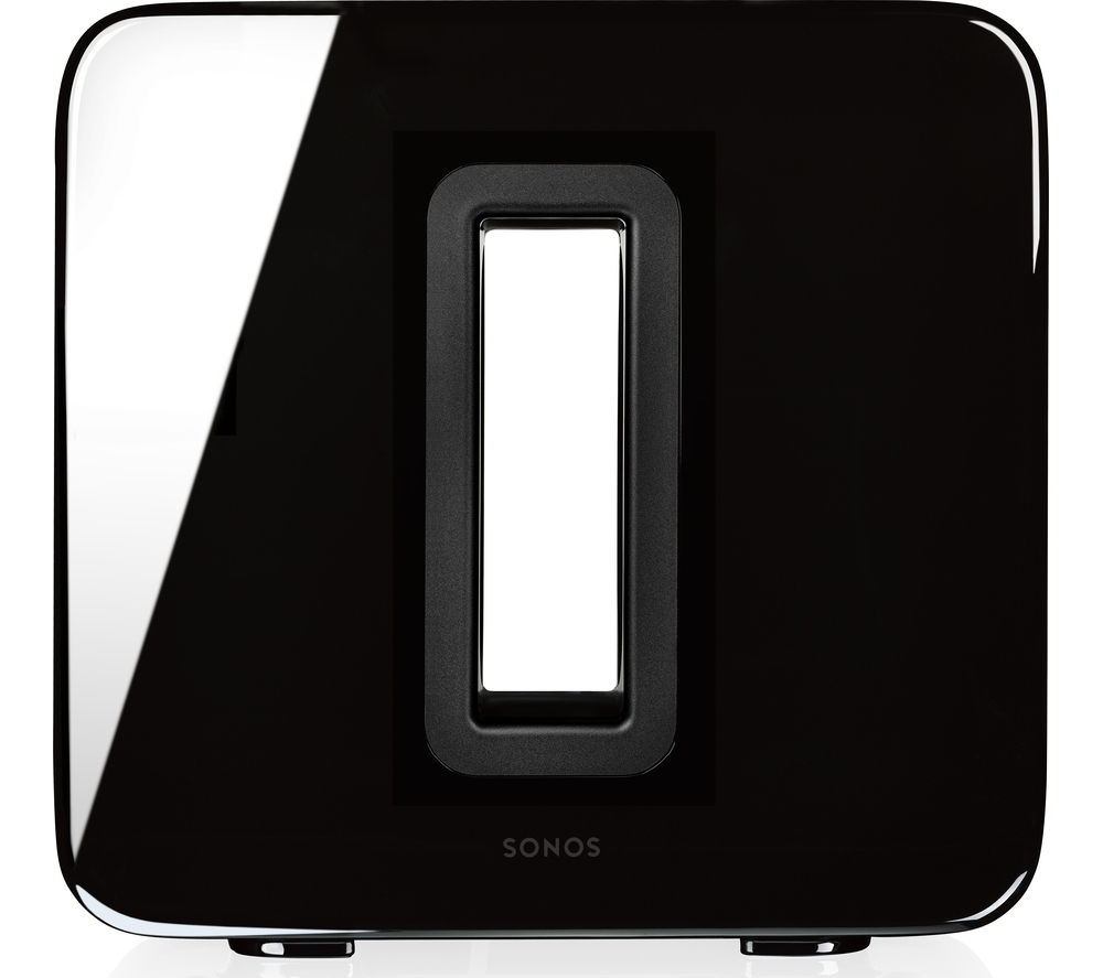 SONOS SUB Wireless Subwoofer - Black, Black