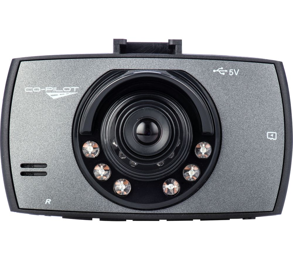 CO-PILOT CPDVR1 Dash Cam - Black, Black