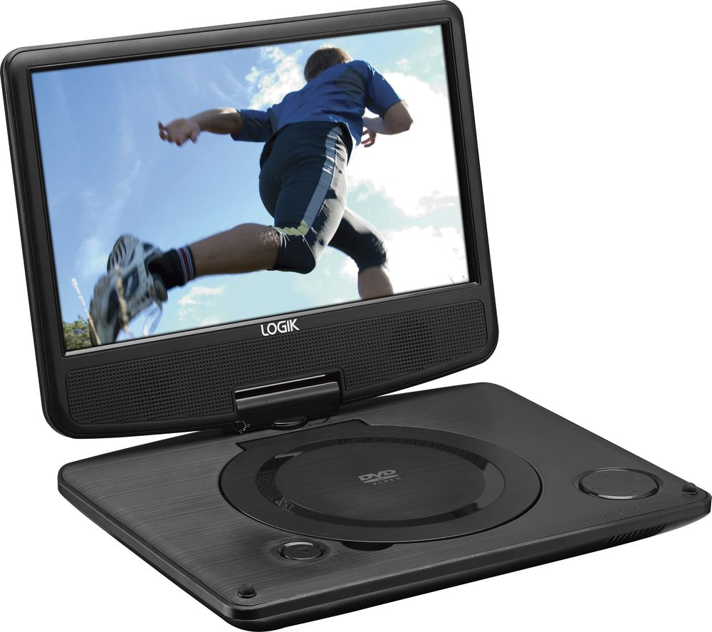 LOGIK L9SPDVD16 Portable DVD Player - Black, Black