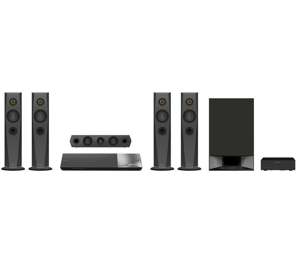 SONY BDVN7200WB.CEK 5.1 Smart 3D Blu-ray Home Cinema System, Silver